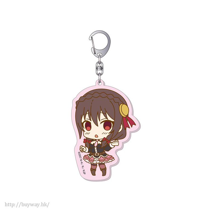 為美好的世界獻上祝福! 「芸芸」亞克力大匙扣 Big Acrylic Key Chain E Yunyun【KonoSuba: God's Blessing on This Wonderful World!】