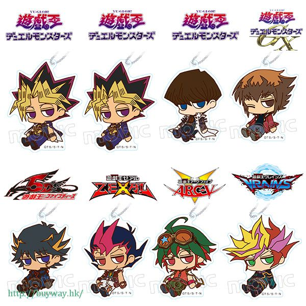 遊戲王 倦怠 亞克力匙扣 (8 個入) Loose Acrylic Key Chain (8 Pieces)【Yu-Gi-Oh!】