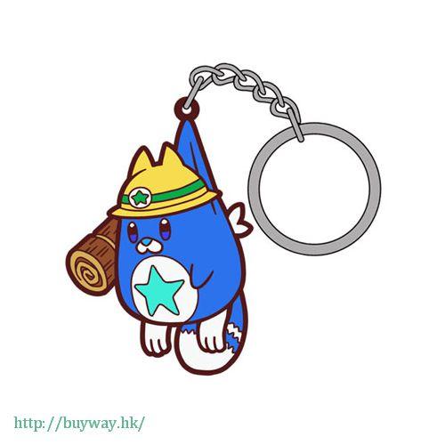 白貓Project 「大工星狸貓」吊起匙扣 Pinched Keychain Daikusei Tanuki【Shironeko Project】