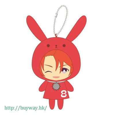 月歌。 「葉月陽 (8月)」指偶公仔 掛飾 Finger Puppet Series You Haduki【Tsukiuta.】