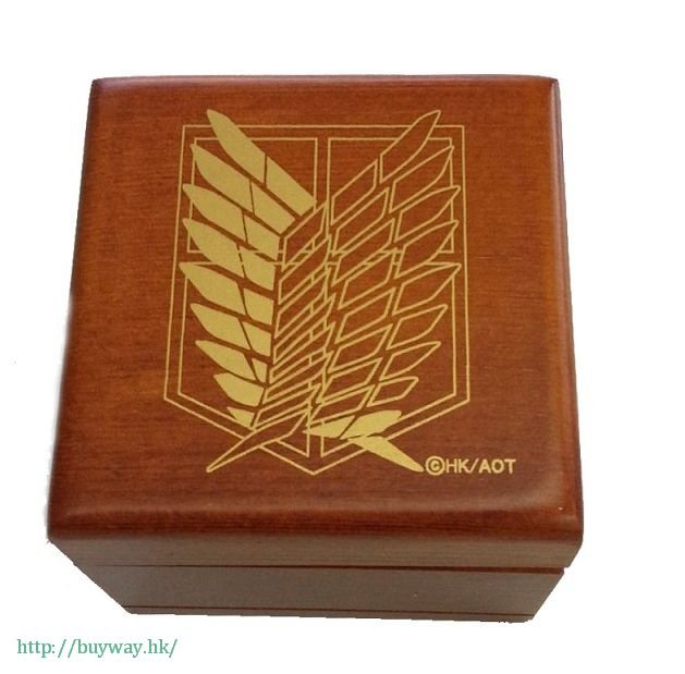 進擊的巨人 「紅蓮の弓矢」木制音樂盒 Wooden Music Box (Music: Guren no Yumiya)【Attack on Titan】
