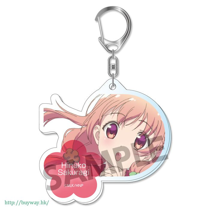 雛子的筆記 「櫻木雛子」亞克力 匙扣 Acrylic Key Chain Sakuragi Hinako【Hinako Note】