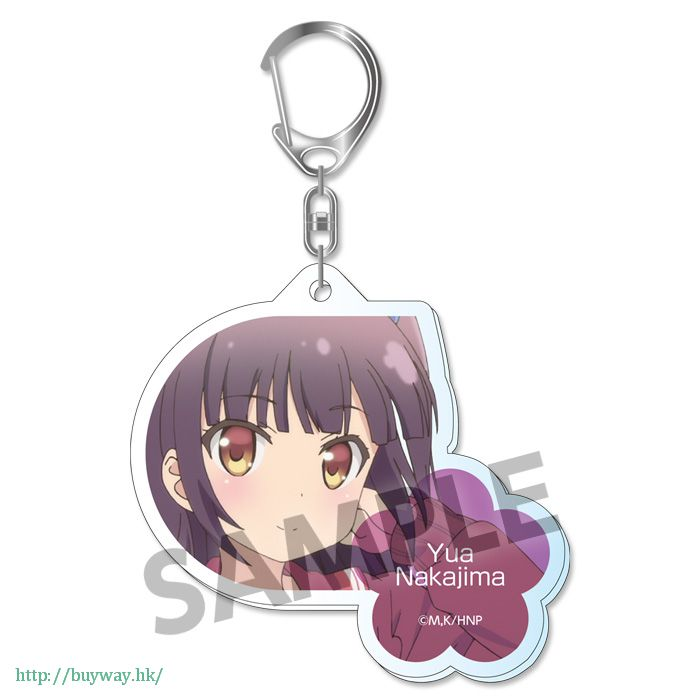 雛子的筆記 「中島優亞」亞克力 匙扣 Acrylic Key Chain Nakajima Yua【Hinako Note】