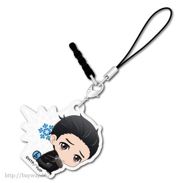 勇利!!! on ICE 「勝生勇利」可愛抱膝亞克力掛飾 Bocchi-kun Acrylic Charm Katsuki Yuri【Yuri on Ice】