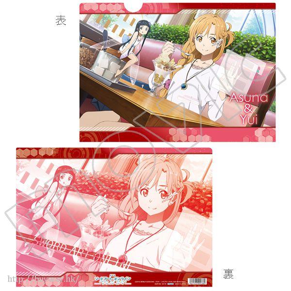 刀劍神域系列 「亞絲娜 + 結衣」文件套 Clear File B Asuna & Yui【Sword Art Online Series】