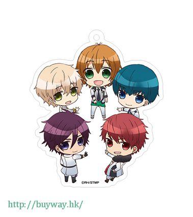 高校星歌劇 「team鳳」音樂 ver. 亞克力匙扣 Acrylic Key Chain Chibidanzu Team Otori Musical Ver.【Star-Mu】