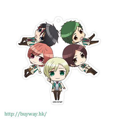 高校星歌劇 「team柊」亞克力匙扣 Acrylic Key Chain Chibidanzu Team Hiiragi【Star-Mu】