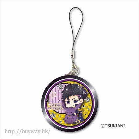 月歌。 「睦月始 (1月)」掛飾 GyuGyutto Tinplate Strap Mutsuki Hajime【Tsukiuta.】