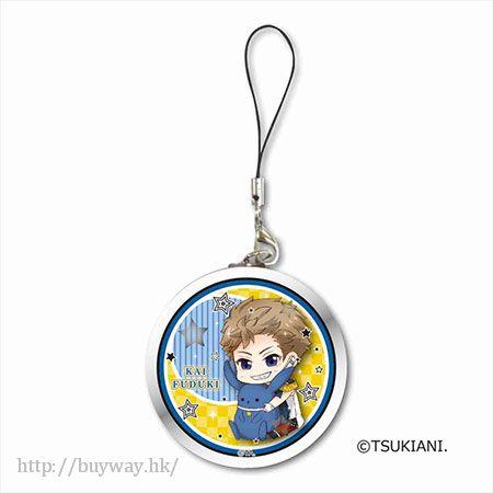 月歌。 「文月海 (7月)」掛飾 GyuGyutto Tinplate Strap Fuduki Kai【Tsukiuta.】