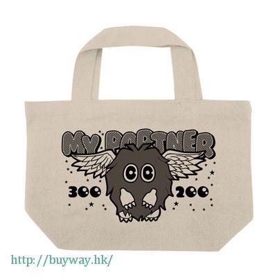 遊戲王 「羽翼栗子球」米白 袋子 Winged Kuriboh Mini Tote Bag/ Natural【Yu-Gi-Oh!】