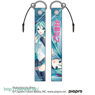 VOCALOID 系列 「初音未來」ver.2.0 長掛飾 Hatsune Miku V3 Strap ver.2.0【VOCALOID Series】