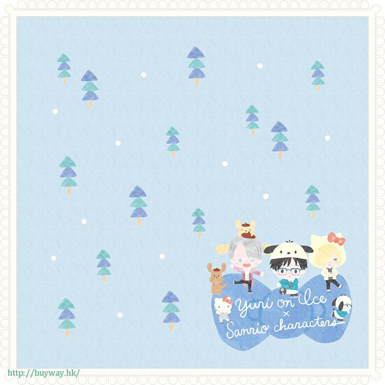 勇利!!! on ICE 小手帕 Yuri on Ice × Sanrio characters Hand Towel Yuri on Ice×Sanrio characters【Yuri on Ice】