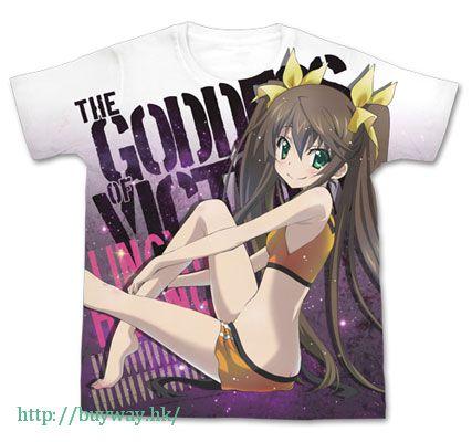 IS 無限斯特拉托斯 (加大)「凰鈴音」Nose Art Style Ver. 白色 全彩 T-Shirt Huang Lingyin Full Graphic Nose Art Style Ver. T-Shirt / WHITE-XL【IS (Infinite Stratos)】