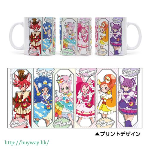 光之美少女系列 杯子 Full Color Mug Pretty Cure Series【Pretty Cure Series】