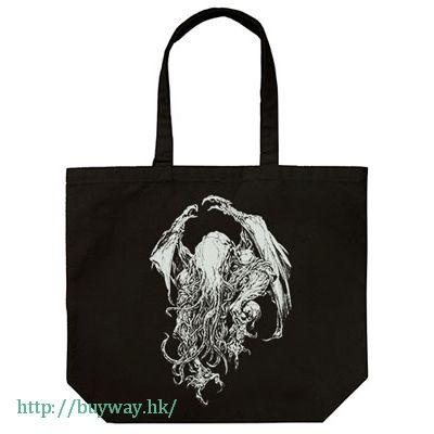 克蘇魯神話 「克蘇魯」末弥純 Ver. 黑色 袋子 Miskatonic University Store Cthulhu Jun Suemi Ver. Large Tote Bag / BLACK【Cthulhu Mythos】