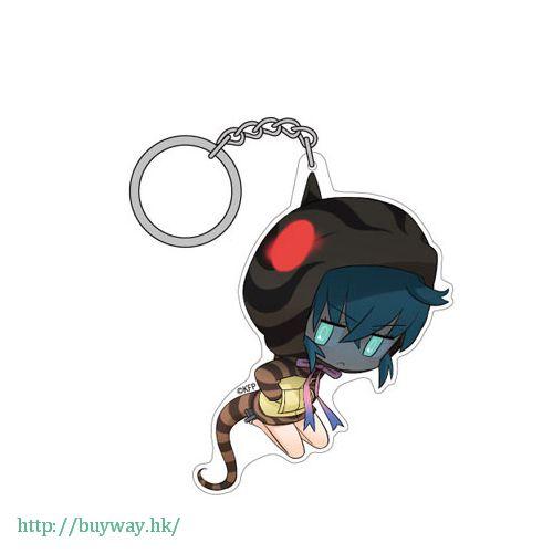 動物朋友 「槌之子 (土龍)」吊起匙扣 Acrylic Pinched Keychain Tsuchinoko【Kemono Friends】