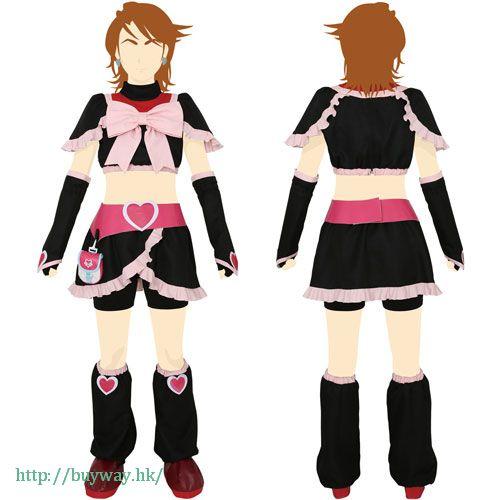 光之美少女系列 (大碼)「美墨莎莎 (黑天使)」Cosplay 服飾 Cure Black Costume Set / Ladies-L【Pretty Cure Series】