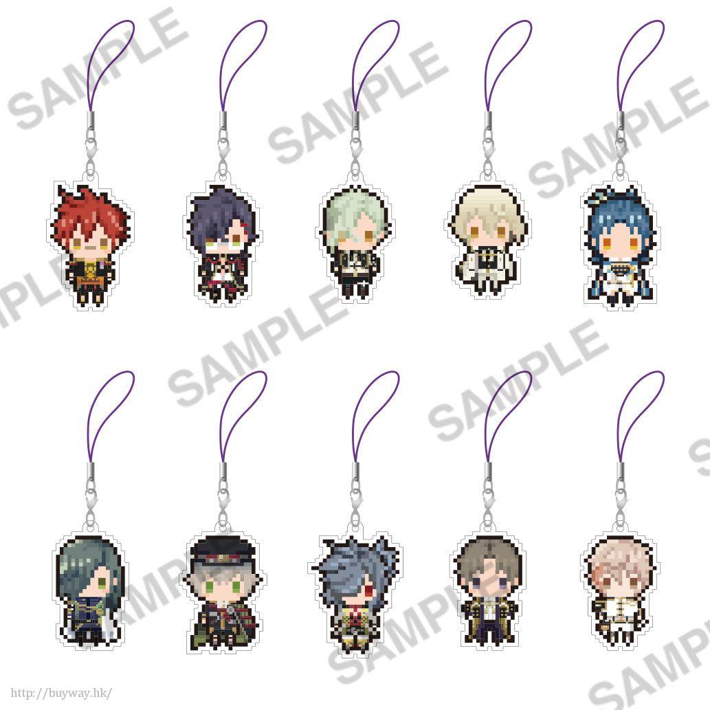 刀劍亂舞-ONLINE- 像素風格 Vol. 5 橡膠掛飾 (10 個入) Petitbit Strap Collection Vol. 5 (10 Pieces)【Touken Ranbu -ONLINE-】