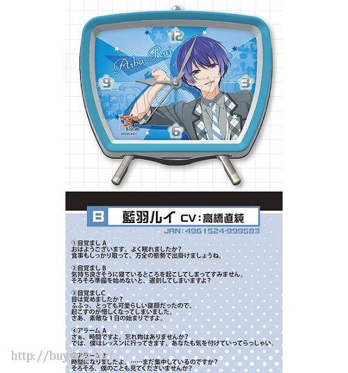 MARGINAL#4 系列 「藍羽 RUI」音樂鬧鐘 Voice Alarm Clock B Aiba Rui【Marginal#4 Series】