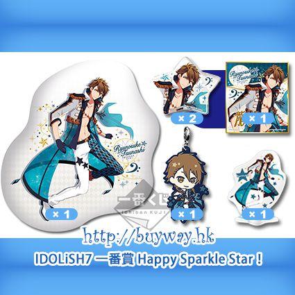 IDOLiSH7 「十龍之介」一番賞 Happy Sparkle Star! A + K + N + O × 2 + P 賞 (1 set 6 件) Kuji Happy Sparkle Star! Pirze A + K + N + O × 2 + P Tsunashi Ryunosuke【IDOLiSH7】