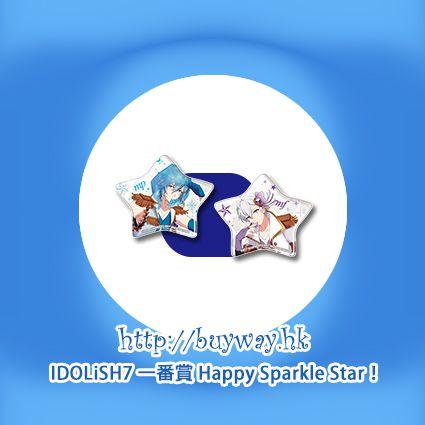 IDOLiSH7 「四葉環 + 逢坂壯五」星形軟膠徽章 一番賞 Happy Sparkle Star! O 賞 (1 套 2 款) Kuji Happy Sparkle Star! Pirze O Tamaki + Sogo (2 Pieces)【IDOLiSH7】