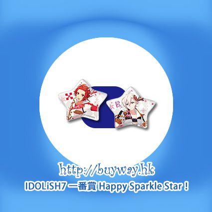 IDOLiSH7 「七瀨陸 + 九條天」星形軟膠徽章 一番賞 Happy Sparkle Star! O 賞 (1 套 2 款) Kuji Happy Sparkle Star! Pirze O Riku + Tenn (2 Pieces)【IDOLiSH7】