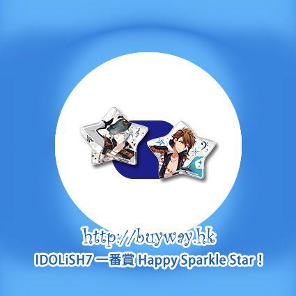 IDOLiSH7 「八乙女樂 + 十龍之介」星形軟膠徽章 一番賞 Happy Sparkle Star! O 賞 (1 套 2 款) Kuji Happy Sparkle Star! Pirze O Gaku + Ryunosuke (2 Pieces)【IDOLiSH7】