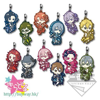 IDOLiSH7 橡膠掛飾 一番賞 Happy Sparkle Star! P 賞 (15 個入) Kuji Happy Sparkle Star! Pirze P (15 Pieces)【IDOLiSH7】