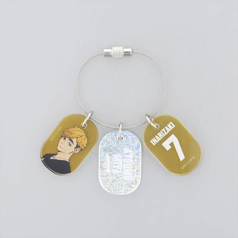 排球少年!! 「宮侑」3連 亞克力匙扣 Triple Acrylic Key Chain Miya Atsumu【Haikyu!!】
