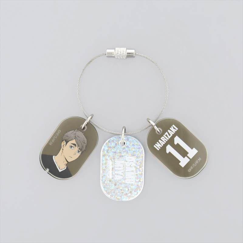 排球少年!! 「宮治」3連 亞克力匙扣 Triple Acrylic Key Chain Miya Osamu【Haikyu!!】