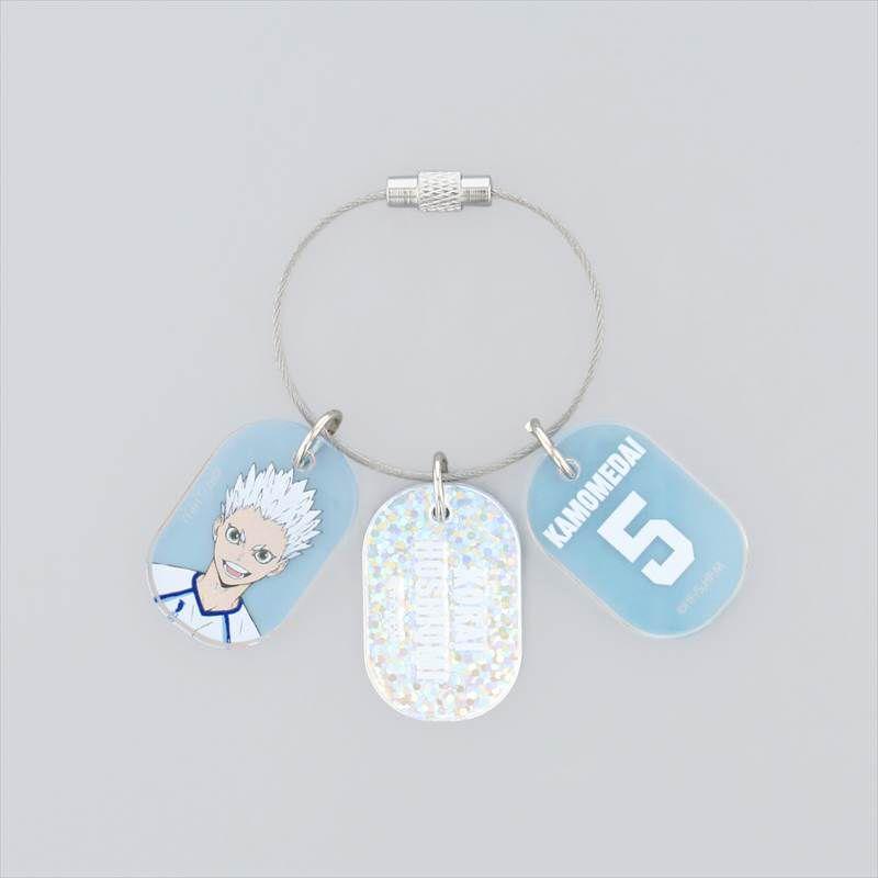 排球少年!! 「星海光來」3連 亞克力匙扣 Triple Acrylic Key Chain Hoshiumi Korai【Haikyu!!】