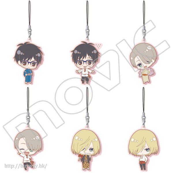 勇利!!! on ICE 橡膠掛飾 (6 個入) Rubber Strap Collection (May Edition) (6 Pieces)【Yuri on Ice】