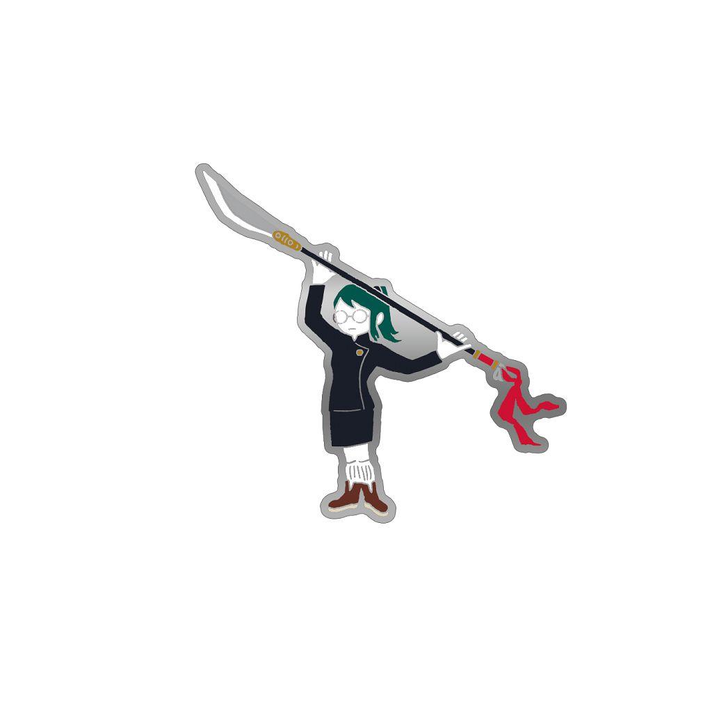 咒術迴戰 「禪院真希」劇場版 咒術迴戰 0 金屬徽章 Jujutsu Kaisen 0: The Movie Pins Yuru Pallet Zen'in Maki【Jujutsu Kaisen】