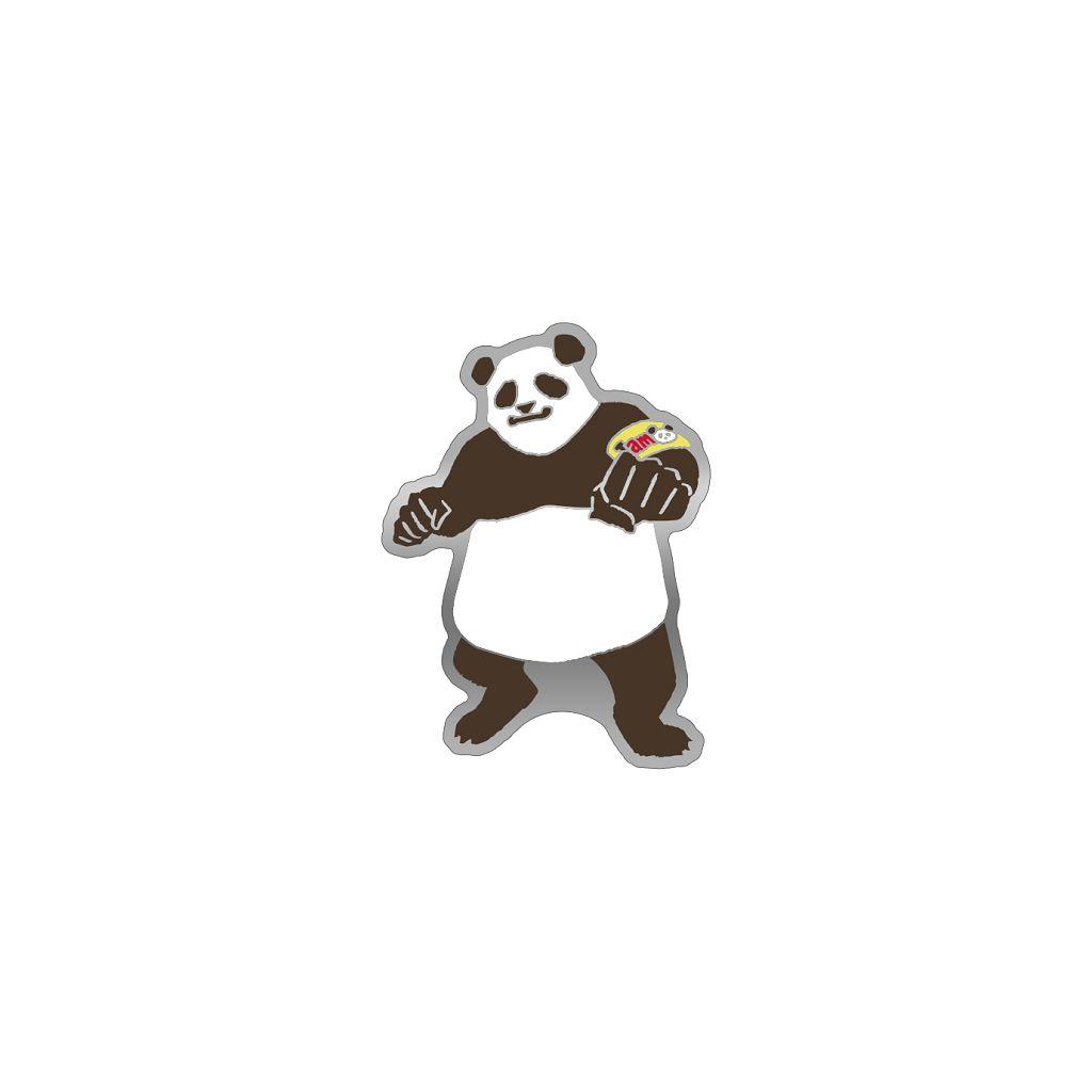 咒術迴戰 「胖達」劇場版 咒術迴戰 0 金屬徽章 Jujutsu Kaisen 0: The Movie Pins Yuru Pallet Panda【Jujutsu Kaisen】