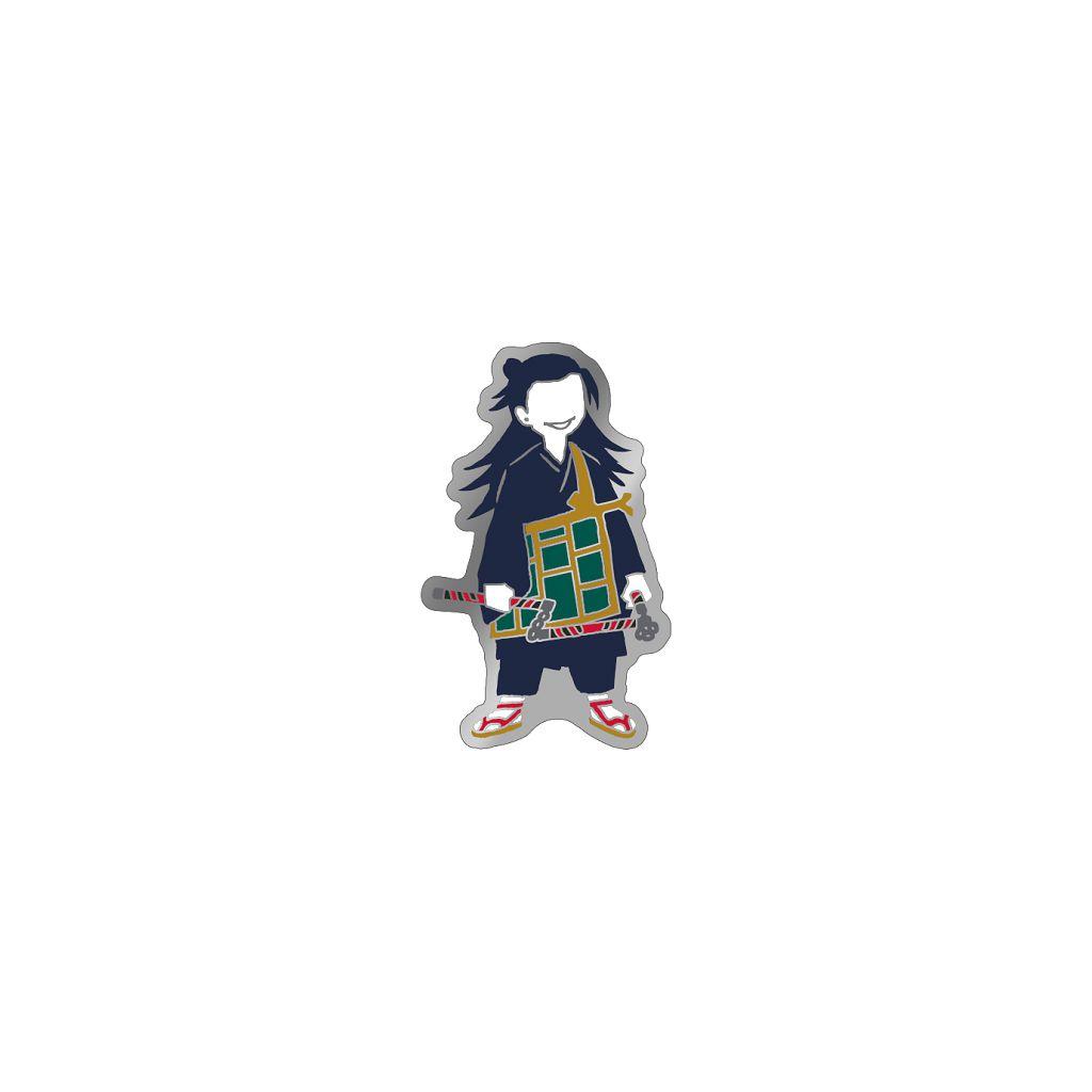 咒術迴戰 「夏油傑」劇場版 咒術迴戰 0 金屬徽章 Jujutsu Kaisen 0: The Movie Pins Yuru Pallet Geto Suguru【Jujutsu Kaisen】