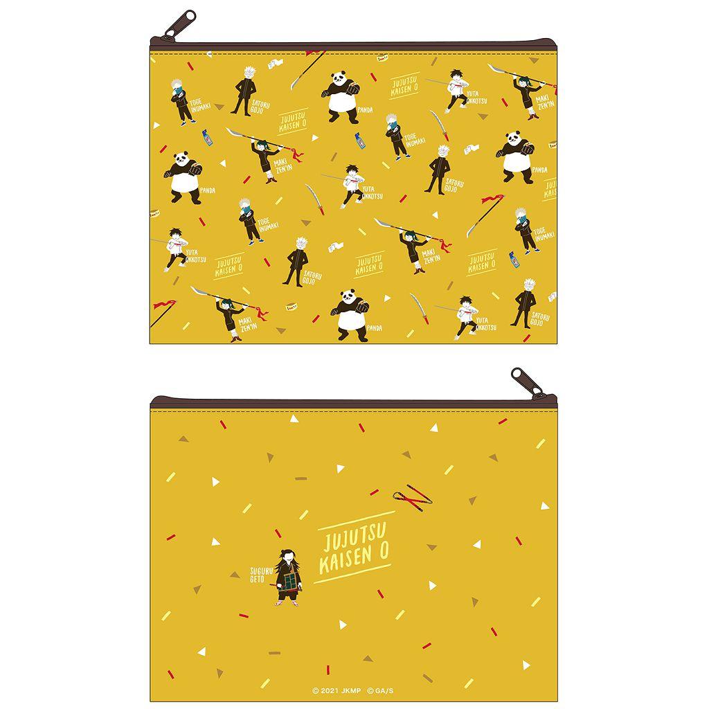 咒術迴戰 「劇場版 咒術迴戰 0」平板袋 黃色 Jujutsu Kaisen 0: The Movie Flat Pouch Yuru Pallet A【Jujutsu Kaisen】