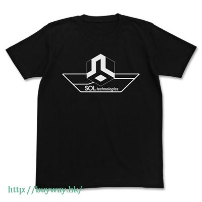 遊戲王 (加大)「SOLTechnology」黑色 T-Shirt SOLTechnology Logo T-Shirt / BLACK-XL【Yu-Gi-Oh!】