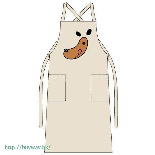 遊戲王 「Cafe Nagi」圍裙 Cafe Nagi Logo Apron / NATURAL【Yu-Gi-Oh!】