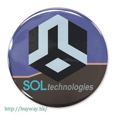 遊戲王 「SOL Technology」收藏徽章 Can Badge SOL Technology Logo【Yu-Gi-Oh!】