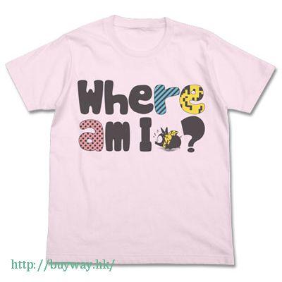 亂馬 1/2 (加大)「響良牙 (小P)」T-Shirt Houkou Onchi no P-chan T-Shirt / LIGHT PINK-XL【Ranma 1/2】