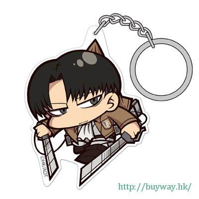 進擊的巨人 「里維 (兵長)」ver.3.0 吊起匙扣 Acrylic Pinched Keychain Levi Ver.3.0【Attack on Titan】