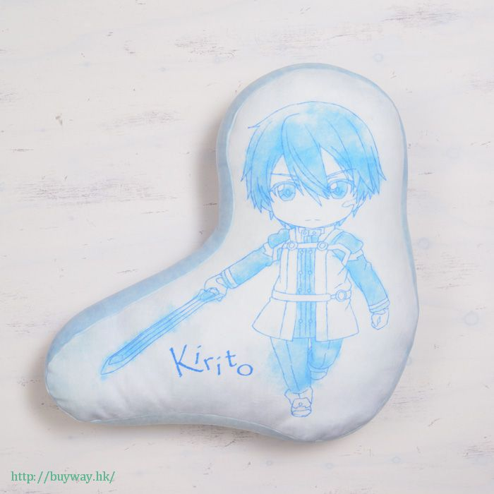 刀劍神域系列 「桐人」柔軟年糕 Cushion Pikuriru! Munyamochi Cushion Kirito【Sword Art Online Series】