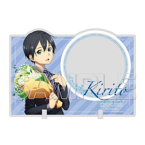 刀劍神域系列 「桐谷和人」花束 Ver. 亞克力留言企牌 Kirito Acrylic Memo Stand Ver. Bouquet【Sword Art Online Series】
