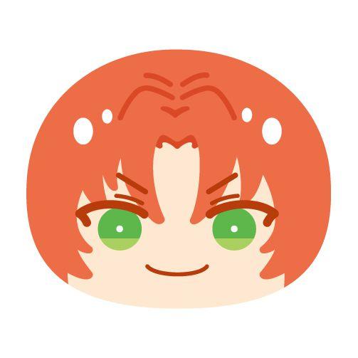 合奏明星 「月永レオ」Vol.5 大豆袋饅頭 Big Omanju Cushion Vol. 5 35 Tsukinaga Leo【Ensemble Stars!】