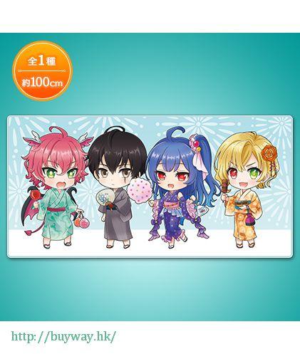 白貓Project 毛巾 一番 D 賞 夏休み満喫だニャ!! Ichiban Kuji Prize D Natsuyasumi Mankitsu da Nya!!【Shironeko Project】