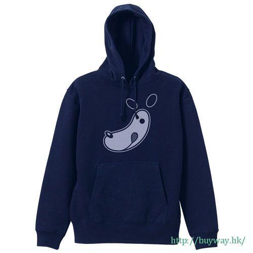 遊戲王 (加大)「Cafe Nagi」深藍色 連帽衫 Cafe Nagi Logo Parka / NAVY-XL【Yu-Gi-Oh!】