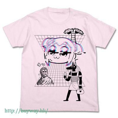 Pop Team Epic (加大)「KUSOWAVE」淺粉紅 T-Shirt KUSOWAVE T-Shirt / LIGHT PINK-XL【Pop Team Epic】