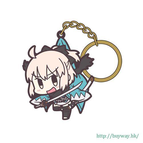 Fate 系列 「Sakura Saber (Okita Souji 沖田總司)」吊起匙扣 Pinched Keychain: Saber/Souji Okita【Fate Series】
