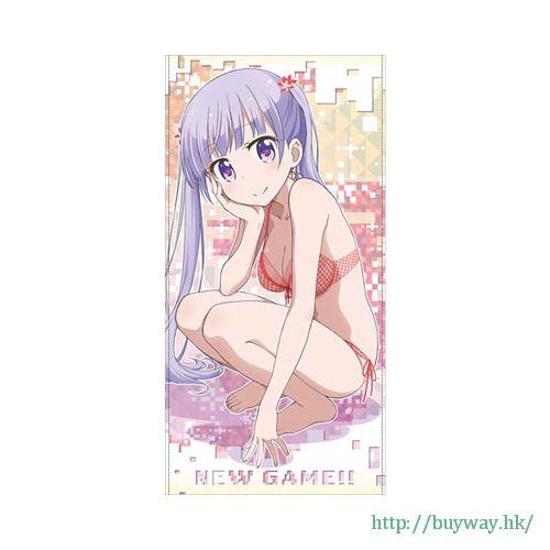 New Game! 「涼風青葉」120cm 大毛巾 DokiDoki 120cm Big Towel: Aoba Suzukaze【New Game!】