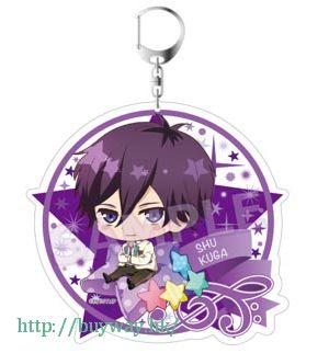 高校星歌劇 「空閑愁」100mm 亞克力匙扣 Acrylic Key Chain Kuga Shu【Star-Mu】